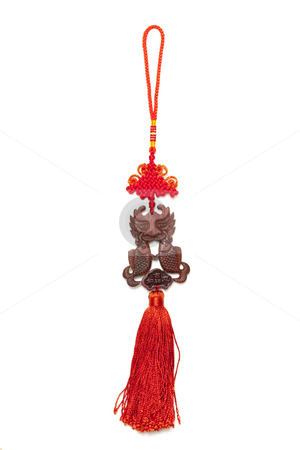 Chinese new year ornament stock photo, Chinese new year ornament by Ingvar Bjork