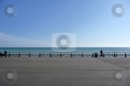 Brighton Seafront  stock photo, The seafront on Brighton's seafront. by Chris Harvey