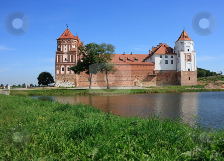 Castle of Mir in Belarus stock photo, Castle of Mir in Belarus by Natalia Macheda