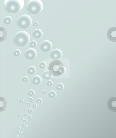 Vector bubbles stock vector clipart, Transparent vector water bubbles - background by ojal_2