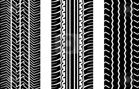 Tire tracks stock vector tire tracks publicscrutiny Gallery