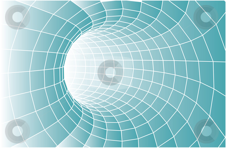 Vector tunnel background stock vector clipart, Abstract vector tunnel - suitable for background by ojal_2