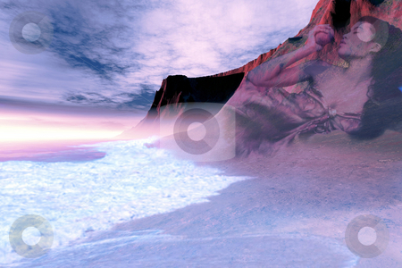 MOTHER  EARTH stock photo, Mother Earth resides within the mountains and the seas. by Corey Ford