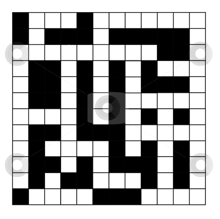 Blank crossword puzzle stock photo blank crossword puzzle maxwellsz