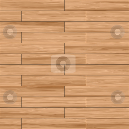 Wooden parquet texture stock photo, Wooden parquet natural finish seamless tiling texture background by Kheng Guan Toh