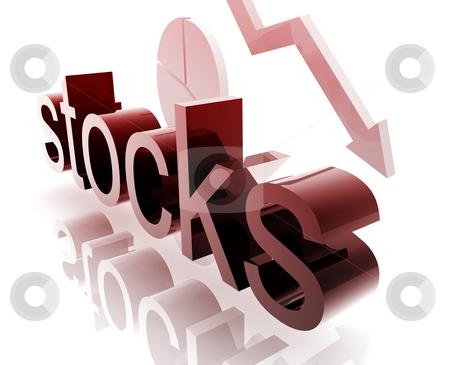 Stock market worsening stock photo, Stock market estate economy trend concept illustration worsening downwards by Kheng Guan Toh