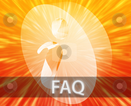 FAQ Information stock photo, FAQ Information frequently asked questions help support illustration by Kheng Guan Toh