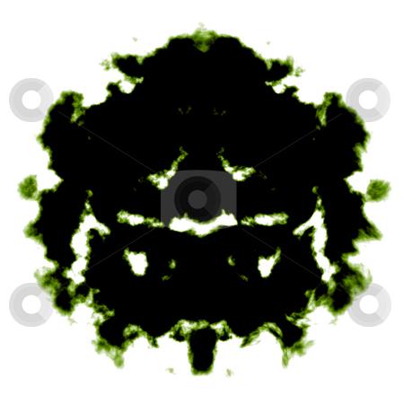 Rorschach inkblot stock photo, Rorschach inkblot test illustration, random abstract design by Kheng Guan Toh