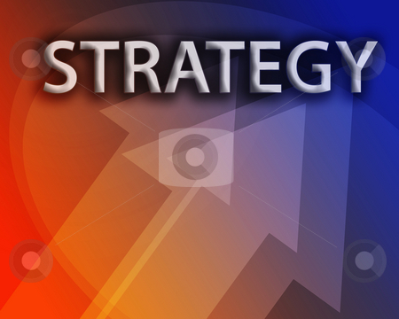 Strategy illustration stock photo, Strategy illustration, abstract management success concept clipart by Kheng Guan Toh