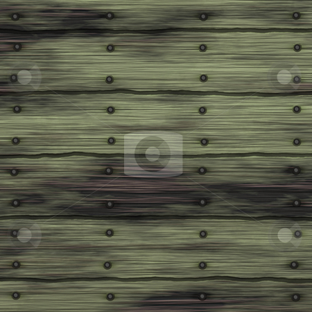 Weathered wood stock photo, Old aged weathered wooden plank texture background by Kheng Guan Toh