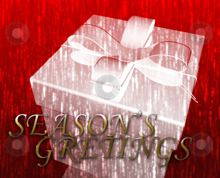 Season's greetings stock photo, Season's greetings festive special occasion celebration abstract illustration by Kheng Guan Toh