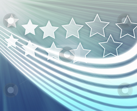 Stars and stripes stock photo, Stars and stripes patriotic USA imagery illustration by Kheng Guan Toh