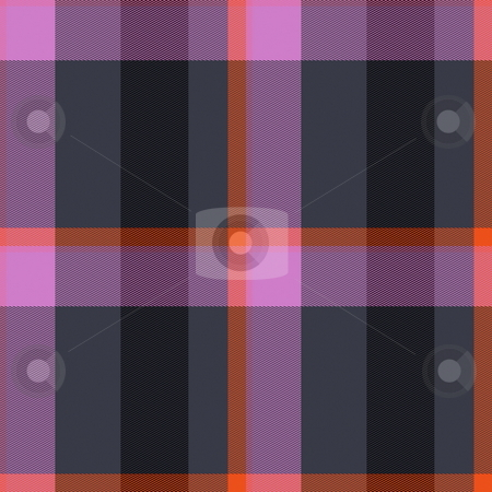 Plaid tartan pattern stock photo, Scottish tartan plaid material pattern texture design by Kheng Guan Toh