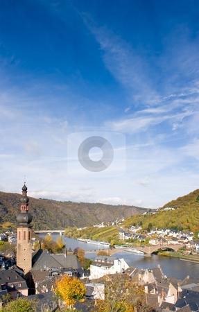 Cochem, Germany stock photo, Cochem on the Moselle, Rhineland-Palatinate, Germany by Interlight