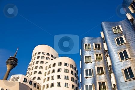 Modern Architecture in Dusseldorf stock photo, Modern Architecture in Dusseldorf, Germany by Interlight