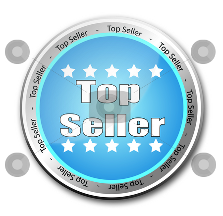 Top Seller stock photo, Top Seller button by Stefano SENISE