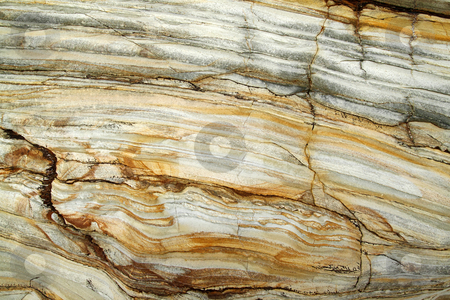 Natural layers of rock abstract background. stock photo, Natural layers of rock abstract background. by Stephen Rees