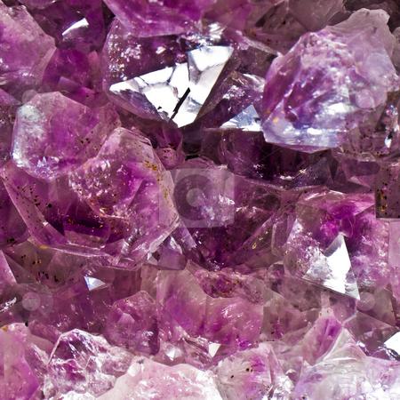 Amethyst Crystals stock photo, Amethyst Crystals by Jim DeLillo