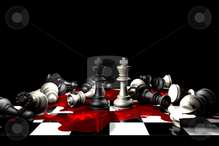 Casualties Of War stock photo, Conceptual piece to display the true impact of war by Paul Inkles