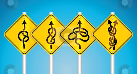 Warning traffic signs stock vector clipart, Warning traffic signs - vector illustration by ojal_2