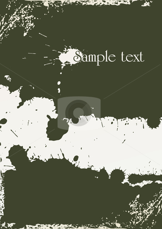 Abstract grunge background stock vector clipart, Abstract grunge background made from splashes - vector illustration by ojal_2