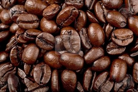 Coffee stock photo, Coffee beans by Barna Tanko