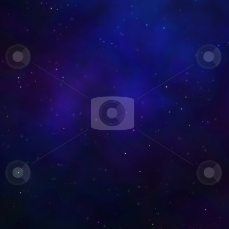 Star nebula stock photo, Space nebula starfield  illustration of outerspace starry sky by Kheng Guan Toh