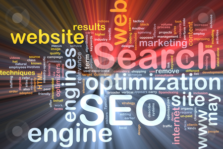 SEO word cloud box package stock photo, Software package box Word cloud concept illustration of SEO Search Engine Optimization by Kheng Guan Toh