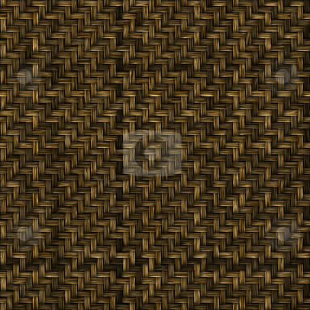 Woven basket texture stock photo, Woven basket texture seamlessly tiling rendered illustration by Kheng Guan Toh