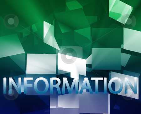 Information data structures stock photo, Data structures networking web information architecture illustration by Kheng Guan Toh