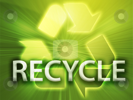 Recycling symbol stock photo, Recycling symbol, eco environment friendly sustainability illustration by Kheng Guan Toh