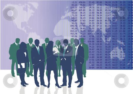 World business people  stock vector clipart, Vector illustration of World business people and entrepreneurs by Čerešňák