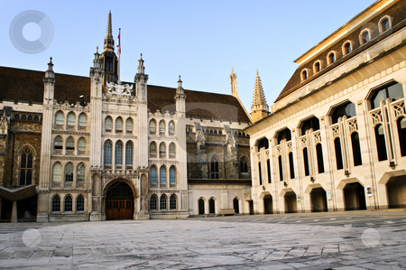 Guildhall building and Art Gallery stock photo, Guildhall building and Art Gallery in City of London by Elena Elisseeva