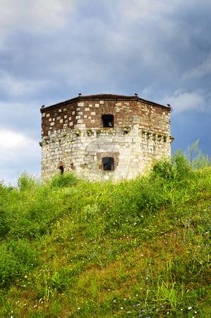Nebojsa tower in Belgrade stock photo, Historic Nebojsa tower at Kalemegdan in Belgrade by Elena Elisseeva