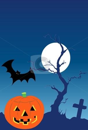 Halloween stock photo, Pumpkin by Verapol Chaiyapin