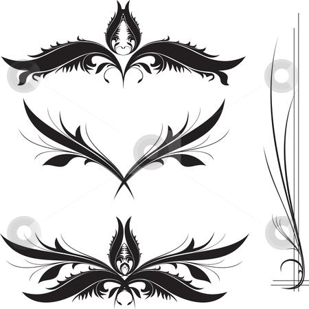 Design details stock vector clipart, Illustrated design details for designers by Rimantas Abromas