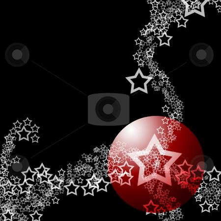 Elegant Abstract Theme stock photo, Elegant Starry Lacy Abstract Festive Ornament Theme over black background by Skovoroda