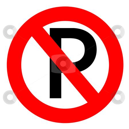 No parking  stock photo, No parking sign by Georgios Kollidas