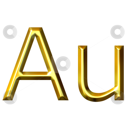 Gold Symbol Stock Photo