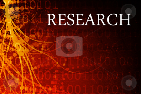 Research Abstract stock photo, Research Abstract Background in Red and Black by Kheng Ho Toh