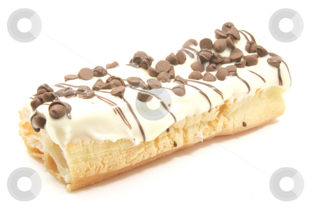Cream Cake Dessert stock photo, Candy Bar Dessert with Special Icing and Cake Base by Kheng Ho Toh