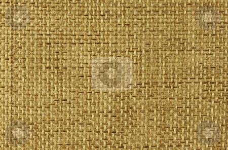 Canvas stock photo, Natural canvas texture close up by Georgios Kollidas