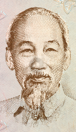 Ho Chi Minh  stock photo, Ho Chi Minh on 200 dong 1987 banknote from Vietnam. Vietnamese revolutionary and patriotic figure, prime minister and later president of the Democratic Republic of Vietnam. by Georgios Kollidas