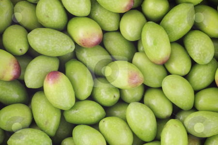 Raw Olives stock photo, Raw olives background by Georgios Kollidas