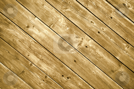 Wood decking planks close up. stock photo, Wood decking planks close up. by Stephen Rees