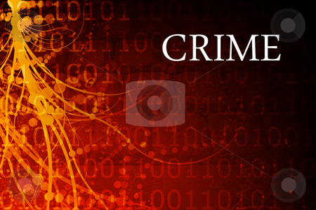 Crime stock photo, Crime Abstract Background in Red and Black by Kheng Ho Toh