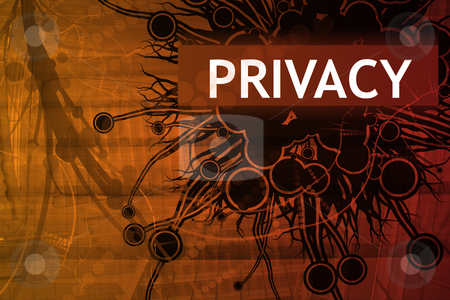 Privacy Security Alert stock photo, Privacy Security Alert Abstract Background in Red by Kheng Ho Toh