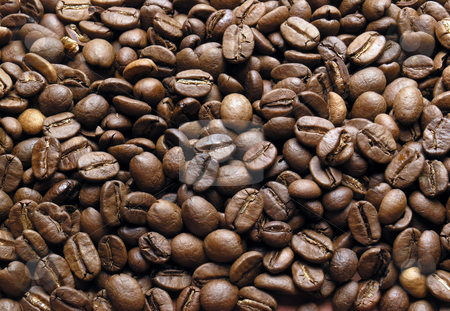 Background of coffe-beans stock photo, Background of coffe-beans by Adam Radosavljevic