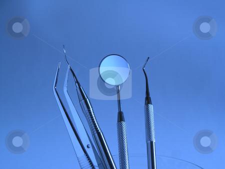 Dental Instruments stock photo, Close-up Dental Instruments by Adam Radosavljevic