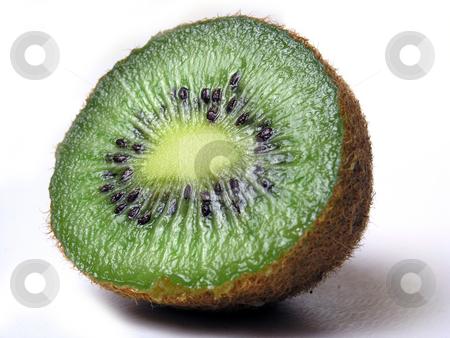 Kiwi stock photo, Cuted Tropical fruits: Kiwi by Adam Radosavljevic